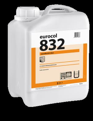 Водный ПУР-лак 832 полуматовый EUROFINISH DUO
