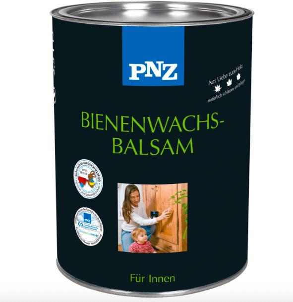 Бальзам для древесины на пчелином воске PNZ Bienenwachsbalam, бесцветный 0,75 л