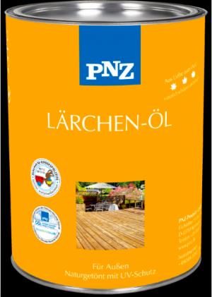 Террасное масло для внешней отделки лиственницы Lärchen Öl, 2,5 л