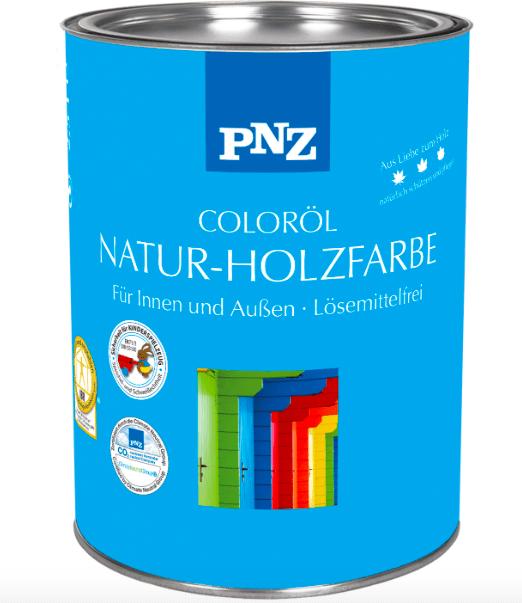 Цветное масло для древесины PNZ Color Ől